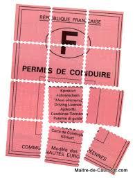permis de conduire points