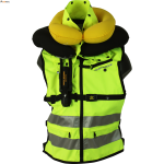 gilet-airbag-spidi-neck-dps-jaune-fluo-gonfle-face